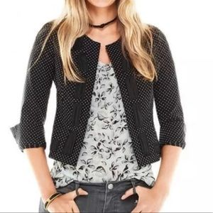 NWT CAbi Seaside Chic Dot Jacket #5156 Size 6